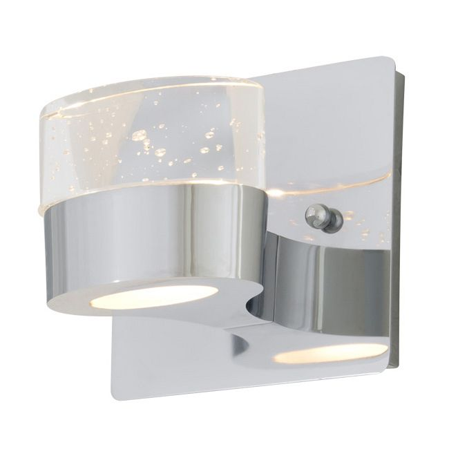 Neptune Bathroom Vanity Light by DVI Lighting | DVP6871CH-SDY