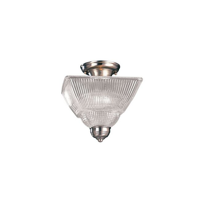 Majestic Square Semi Flush Ceiling Light by Hudson Valley Lighting | 4532-PN