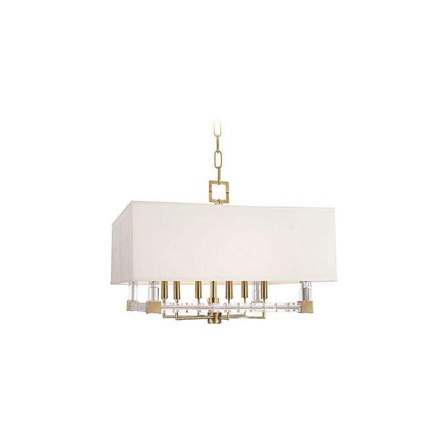 Alpine Covered Chandelier by Hudson Valley Lighting | 7126-AGB