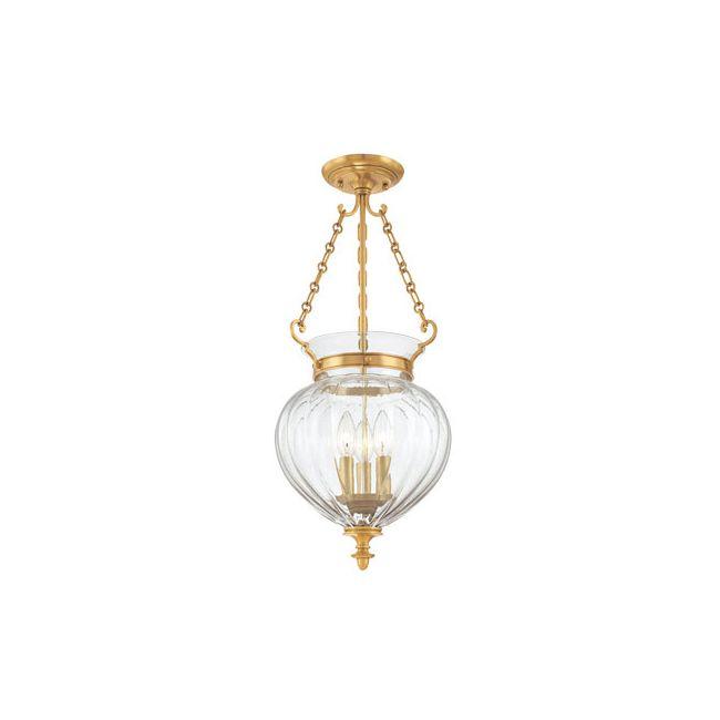 Gardner Semi Flush Ceiling Light by Hudson Valley Lighting | 782-AGB