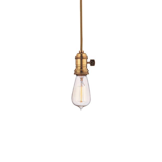 Heirloom Pendant by Hudson Valley Lighting   8001-AGB