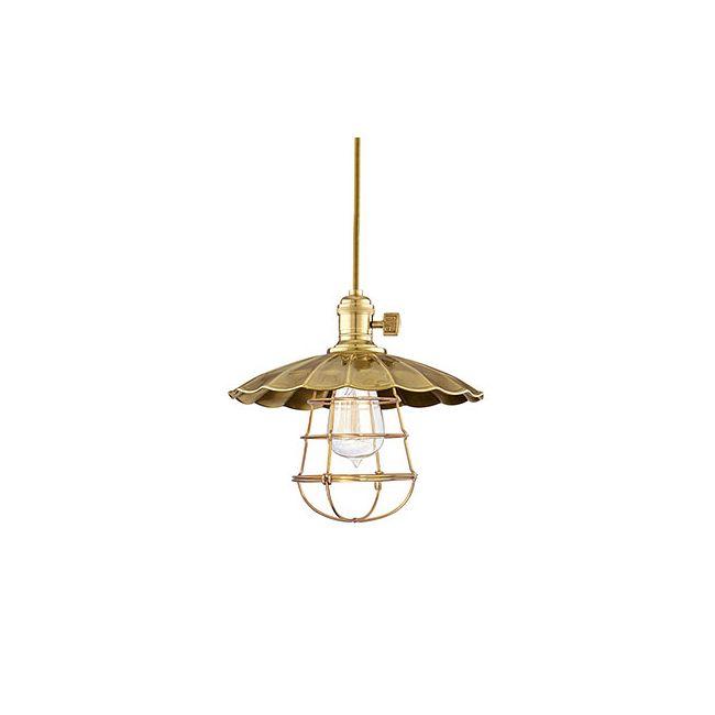 Heirloom MS3-WG Pendant by Hudson Valley Lighting   8001-AGB-MS3-WG