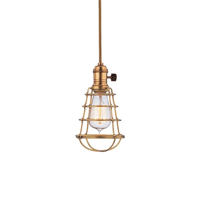 Heirloom WG Pendant by Hudson Valley Lighting | 8001-AGB-WG