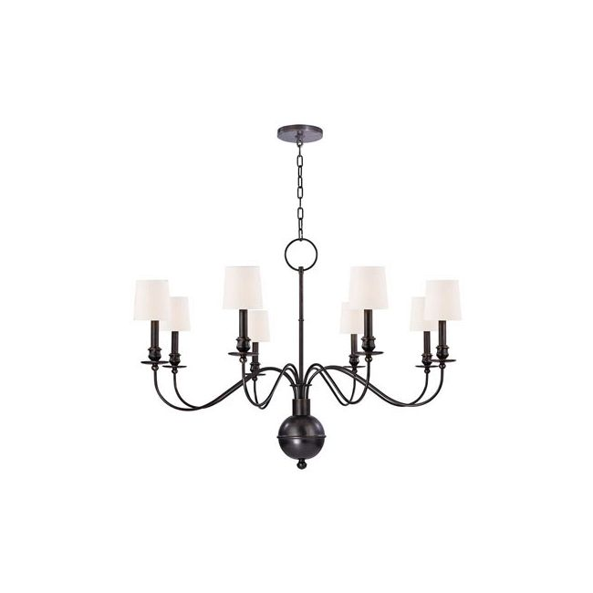Cohasset Chandelier by Hudson Valley Lighting | 8218-OB-WS
