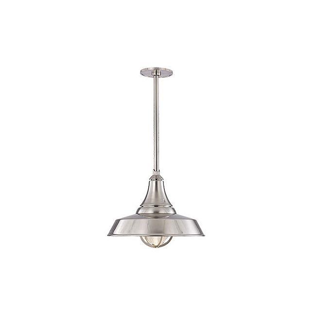 Lansing Solid Pendant by Hudson Valley Lighting | 9118-SN