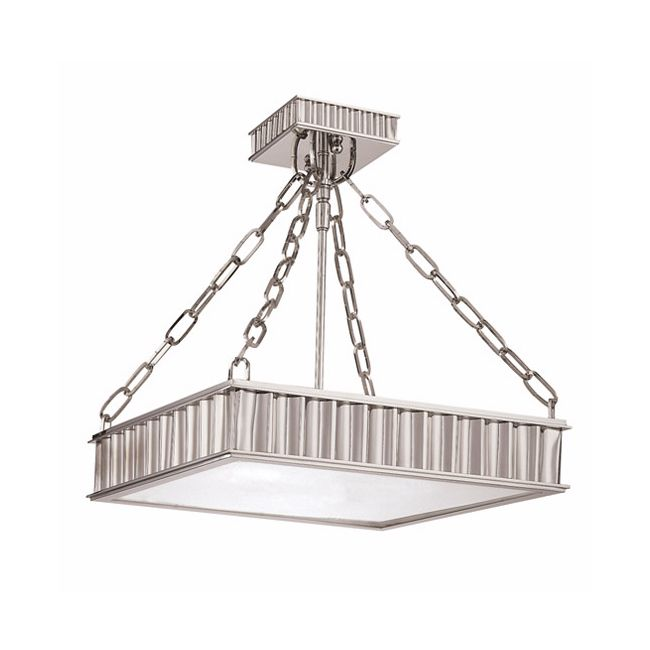 Middlebury Square Semi Flush Ceiling Light  by Hudson Valley Lighting