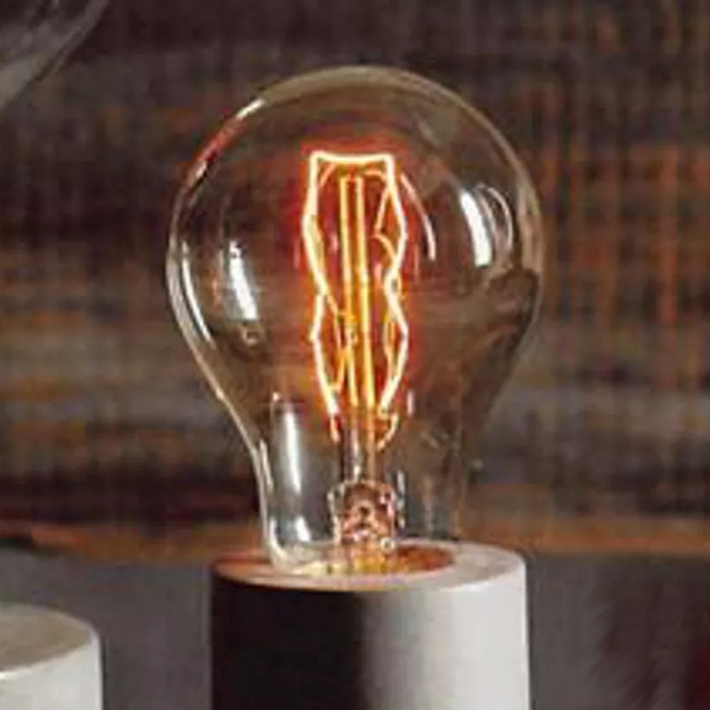 Filament Edison LB1 60W Medium Base 120V Bulb by Roost | ROLB1