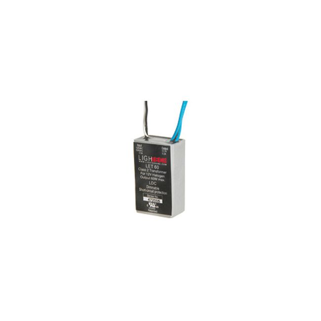 LET-60 60W 12V Class 2 AC Electronic Transformer by Lightech | 66937