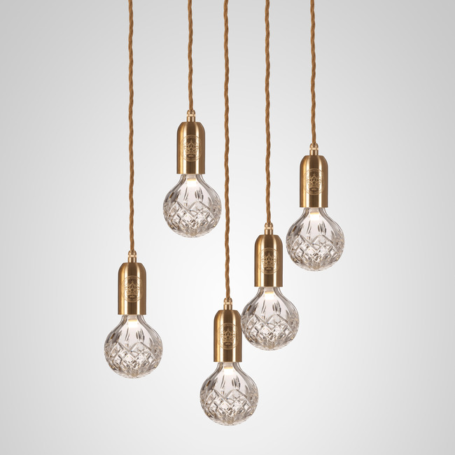 Crystal Bulb Chandelier by Lee Broom | CB0141