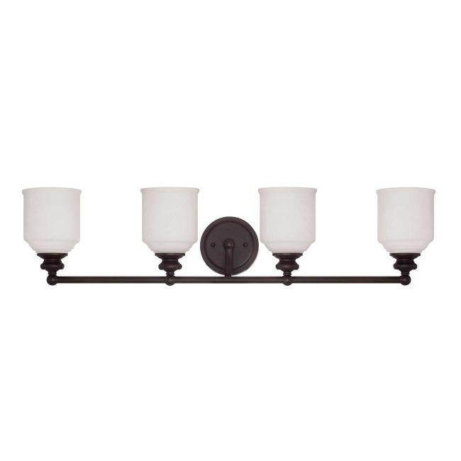 Melrose Bathroom Vanity Light by Savoy House | 8-6836-4-13