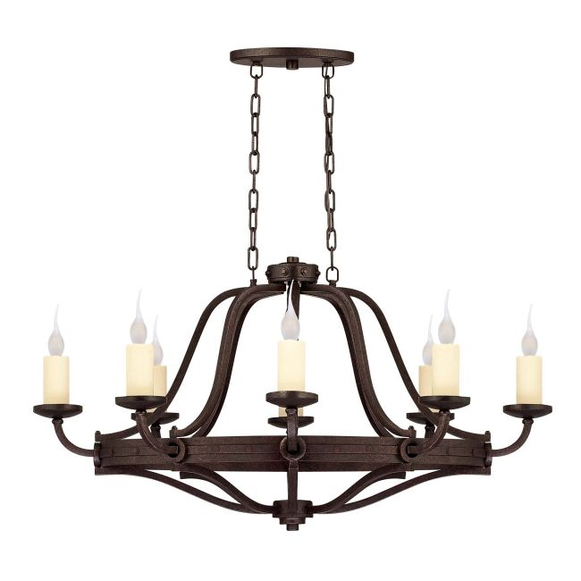 Elba Oval Chandelier by Savoy House | 1-2011-8-05