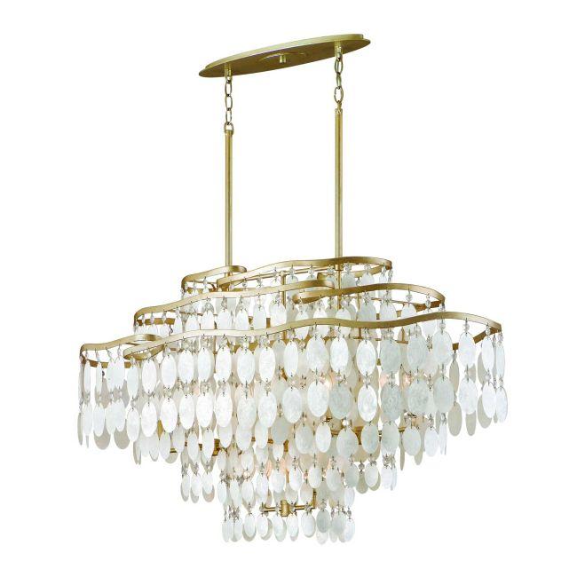 Dolce Oval Chandelier by Corbett Lighting | 109-512