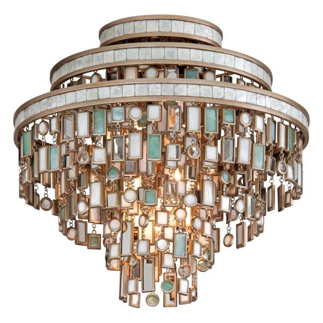 Dolcetti Semi Flush Ceiling by Corbett Lighting   142-33
