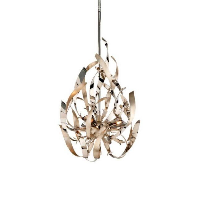 Graffiti Chandelier By Corbett Lighting </br> Massey Associates Architects