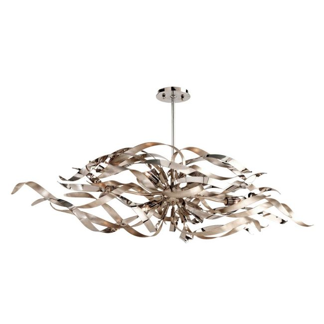 Graffiti Linear Chandelier  by Corbett Lighting