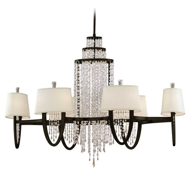 Viceroy Oval Chandelier by Corbett Lighting | 130-012