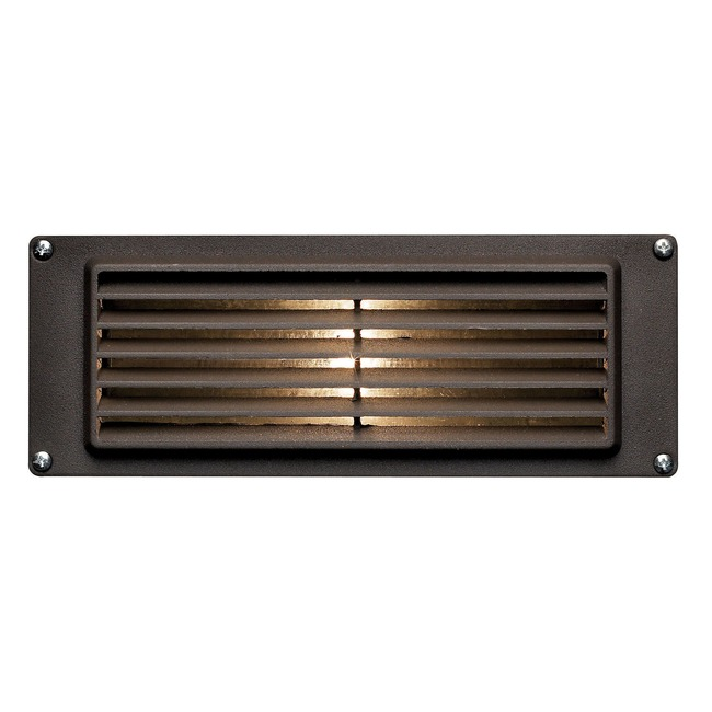 Exceptional 12V Louvered Brick Light By Hinkley Lighting | 1594BZ Design Ideas
