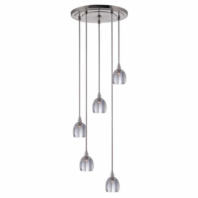 Naples 004 5 Light Pendant by Hudson Valley Lighting | 3615-SN-S-004