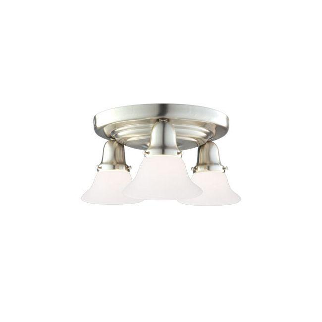 Edison 415 Semi Flush Ceiling Light by Hudson Valley Lighting   587-SN-415