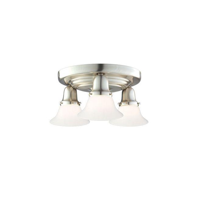 Edison 415M Semi Flush Ceiling Light by Hudson Valley Lighting | 587-SN-415M