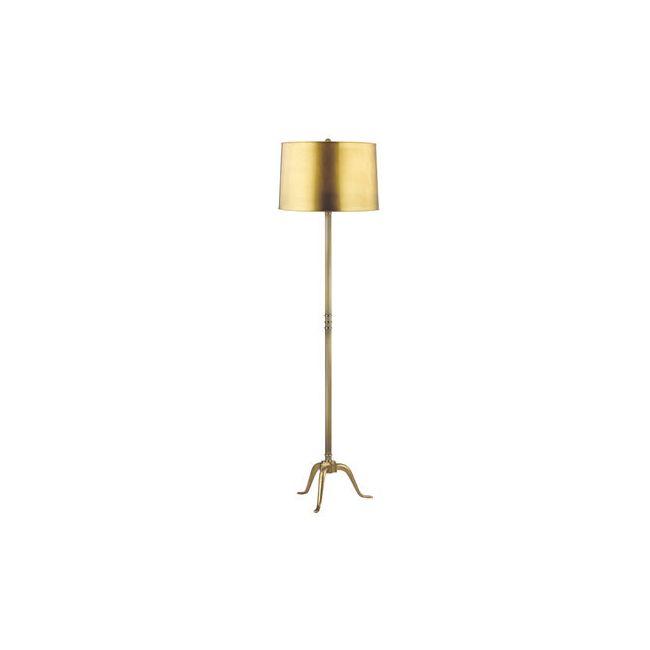 Burton Metal Floor Lamp by Hudson Valley Lighting   L816-VB-M