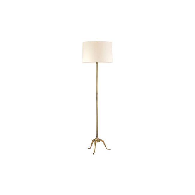 Burton Floor Lamp by Hudson Valley Lighting   L816-VB-WS