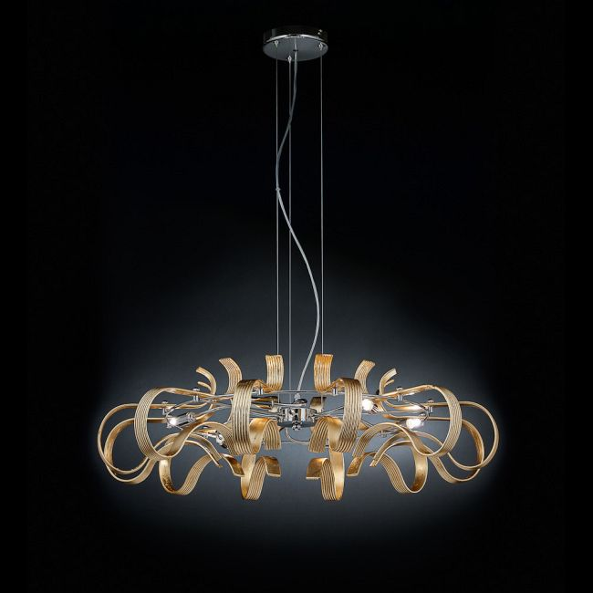 Onda Large Suspension  by Lightology Collection