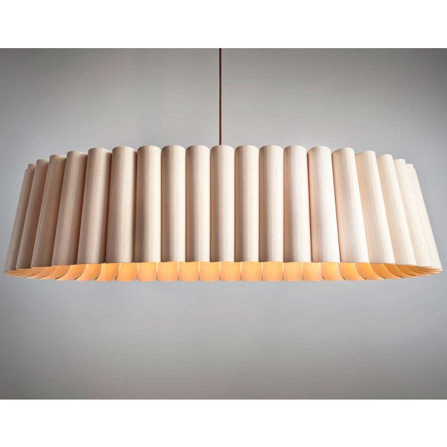 Renata 116 Oval Suspension by WEP Light | REO116-ASH-ASH