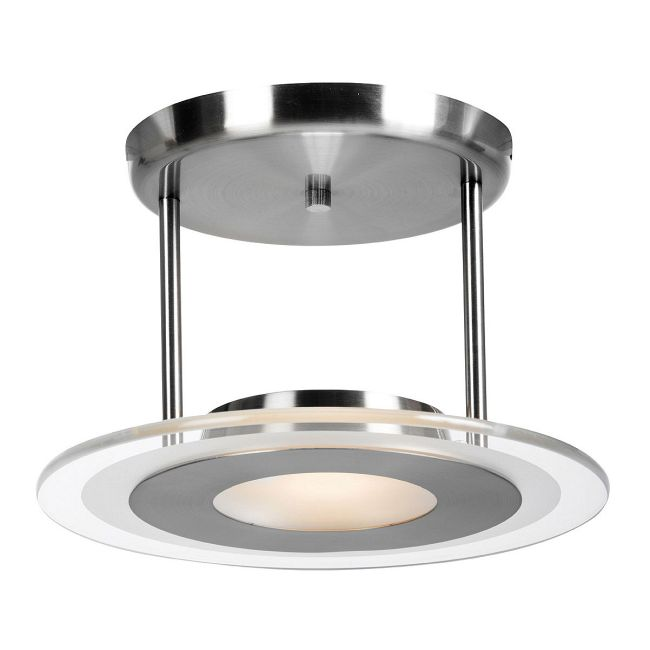 Helius Semi Flush by Access | 50481-BS/CFR