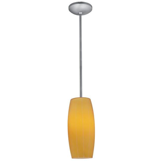 Cognac Rod Pendant by Access | 28070-2R-ORB/AMB