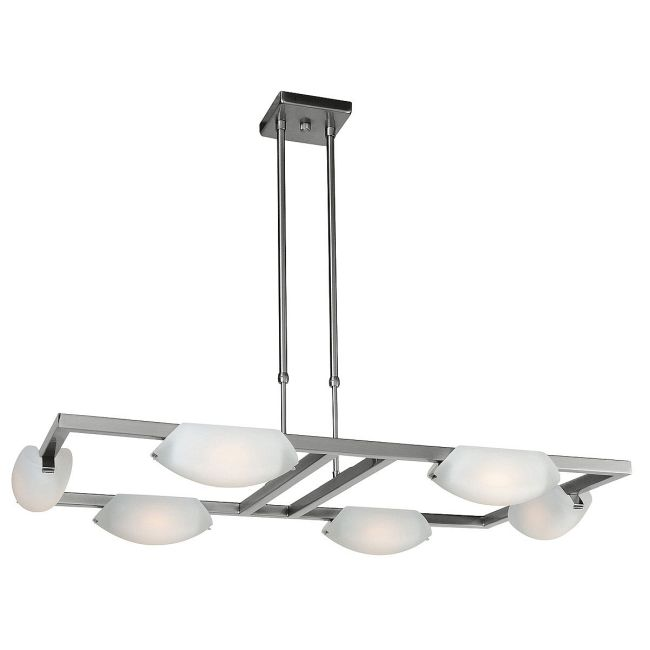 Nido Adjustable Chandelier by Access | 63962-MC/FST