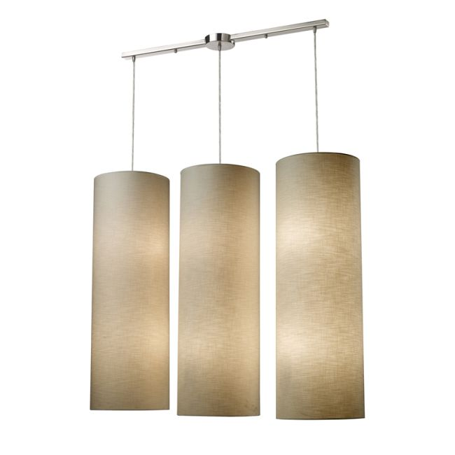 Fabric Cylinders Pendant by Elk Lighting | 20160/12L