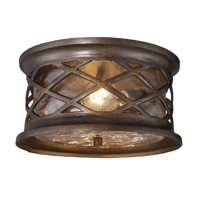 Barrington Gate Outdoor Flush Mount by Elk Lighting | 42037/2