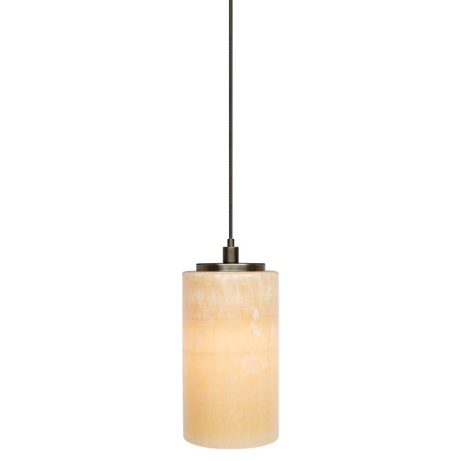 Onyx Cylinder Pendant by LBL Lighting | hs176onbz1b50mpt