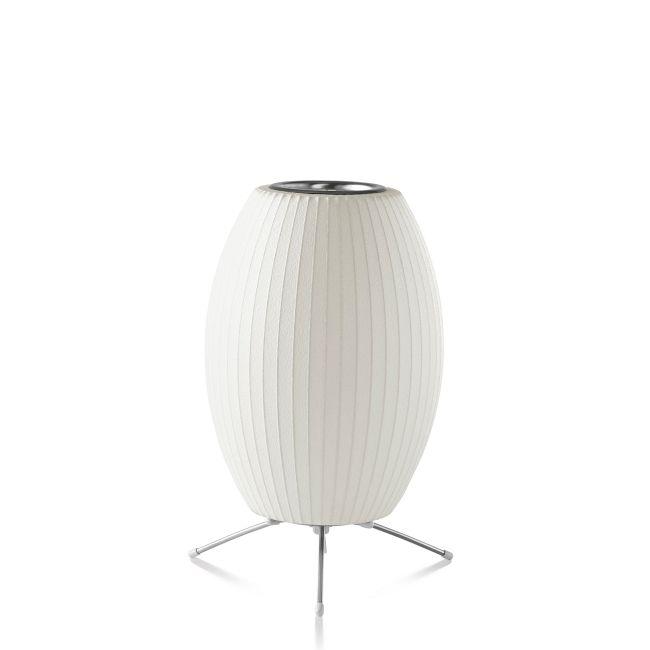 Cigar Lotus Tripod Lamp  by Nelson Bubble Lamps