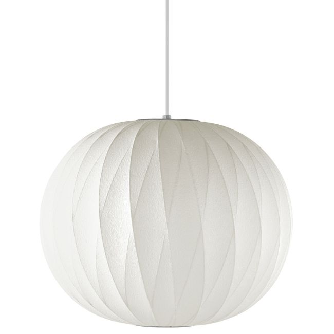 Ball Criss Cross Pendant by George Nelson | H761CCS-BNS