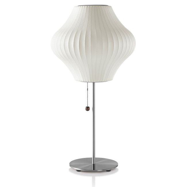 Pear Lotus Table Lamp by George Nelson | H770LTS-BNS