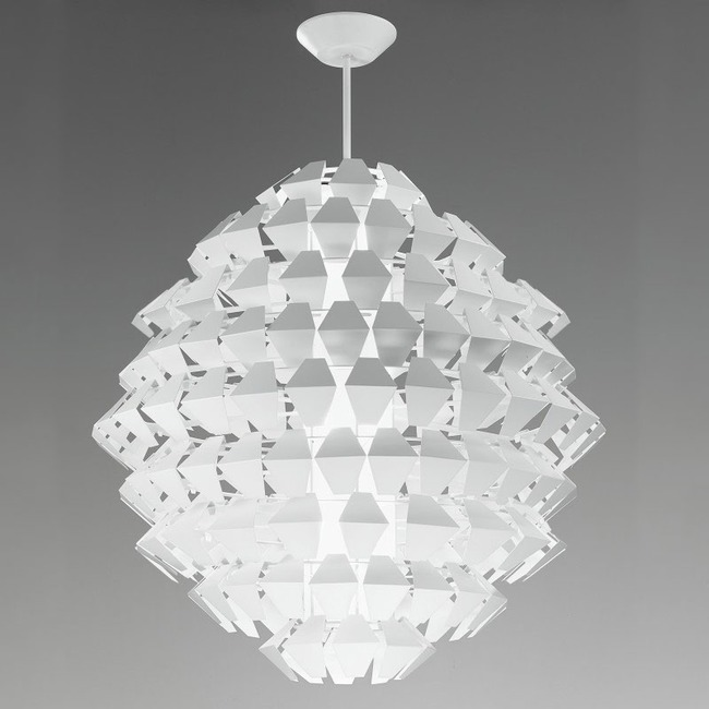 Agave Round Pendant by ZANEEN design | D8-1183