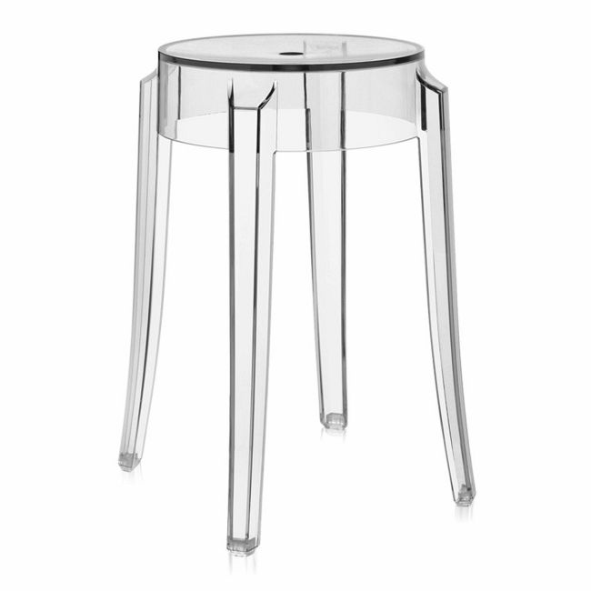 Charles Ghost Bar Stool - 2 Pack  by Kartell
