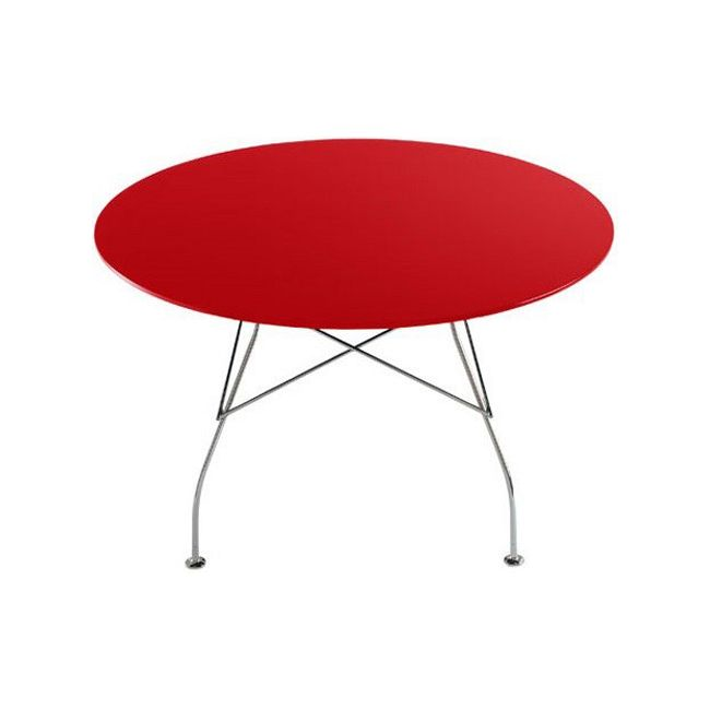 Download Image · Glossy Round Table By Kartell