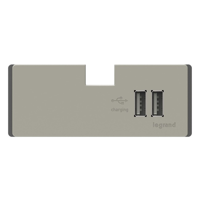 USB Outlet Module for Undercabinet by Legrand | APUSB3TM4