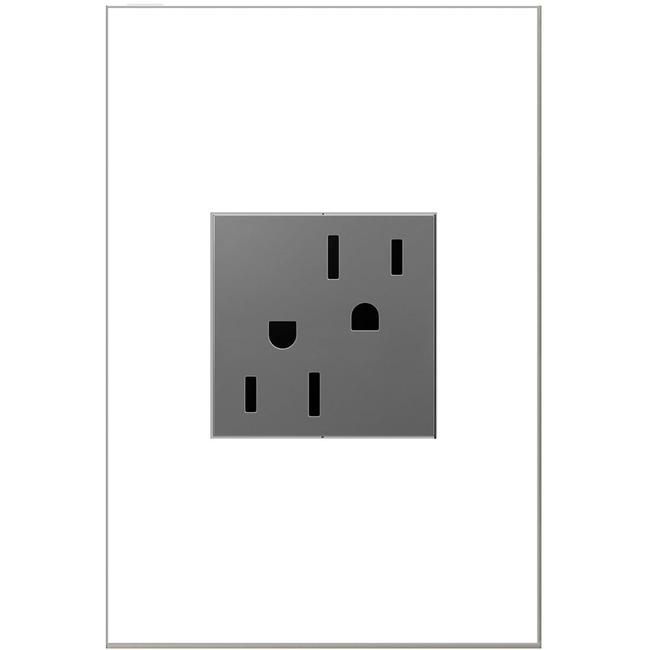 Tamper Resistant 15 Amp Outlet by Legrand Adorne   ARTR152M4