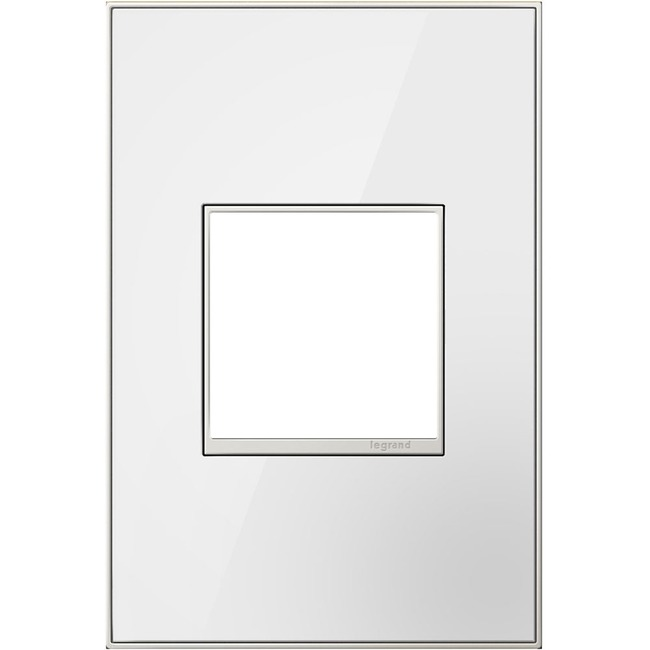 Adorne Real Material Screwless Wall Plate  by Legrand Adorne