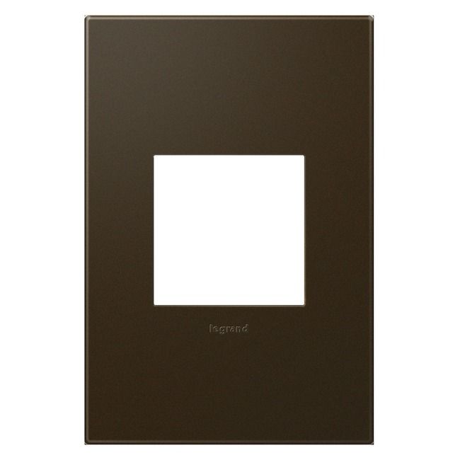 Adorne Plastic Screwless Wall Plate  by Legrand Adorne