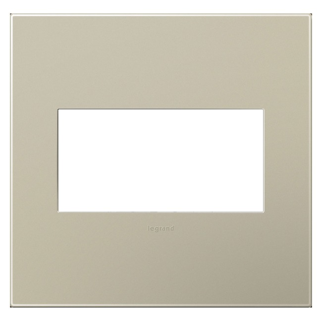 Adorne Plastic Screwless Wall Plate by Legrand | AWP2GTM4