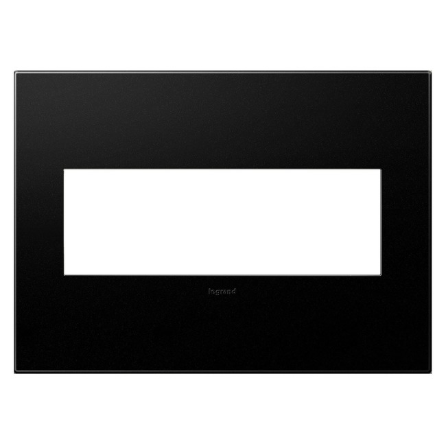 Adorne Plastic Screwless Wall Plate by Legrand | AWP3GGR4