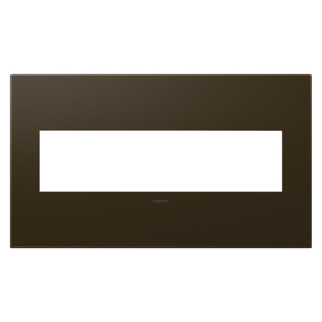 Adorne Plastic Screwless Wall Plate by Legrand | AWP4GBR4