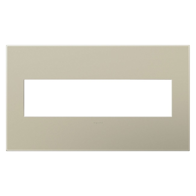 Adorne Plastic Screwless Wall Plate by Legrand | AWP4GTM4