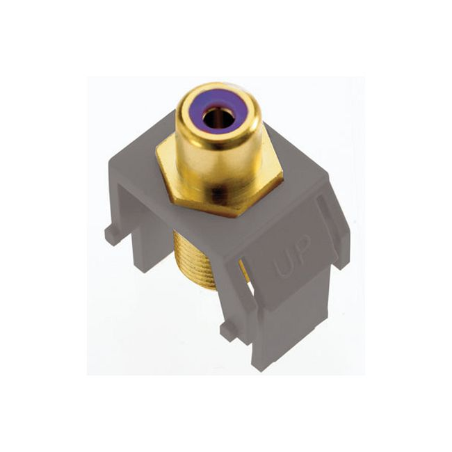 Subwoofer RCA to F-Connector by Legrand | ACPRCAFM1