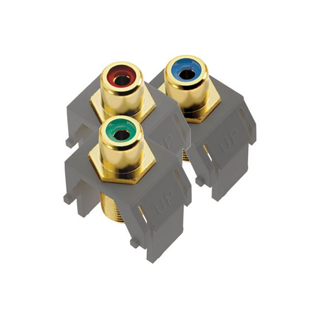 Component Video RCA to F Kit by Legrand | ACRGBRCAFM1